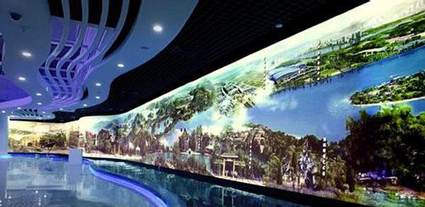 数字展厅设计效果图 多媒体科技展厅效果图