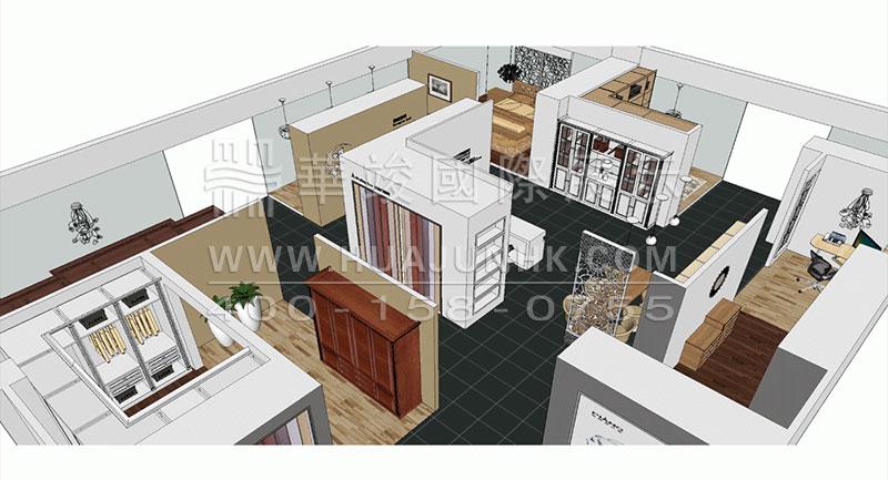 橱柜和衣柜展厅设计九要素图片