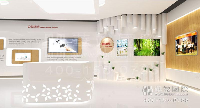深圳南山展厅设计 将企业文化理念融入展厅