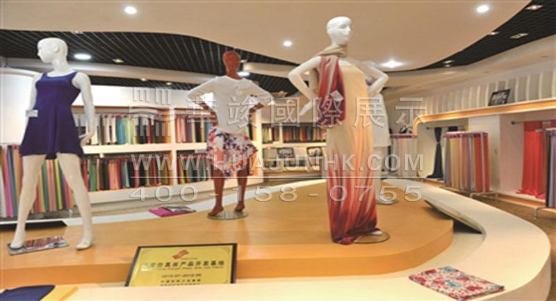面料展厅设计分析以及案例效果图欣赏
