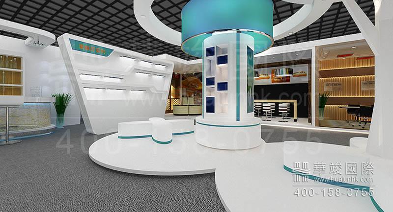 多媒体展厅设计需要重视哪些事项图片