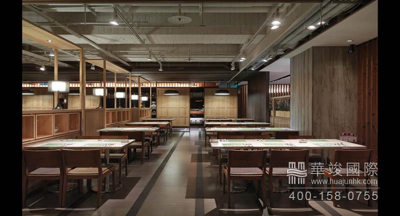 """""""图书馆""""范的餐饮展厅设计"""