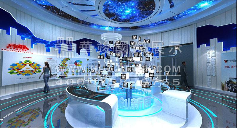 华竣国际以创新的智慧展厅设计理念,融合互联网+思维,顺应科技化趋势