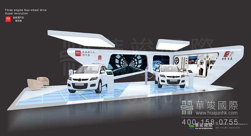 汽车展厅设计的展示模式