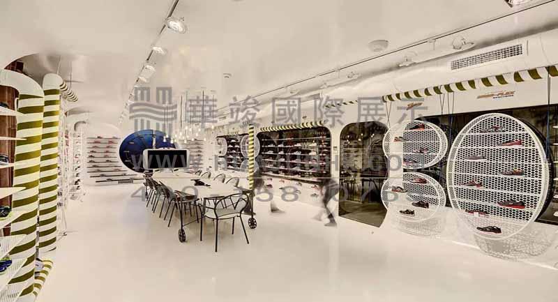 新中式展厅长桌