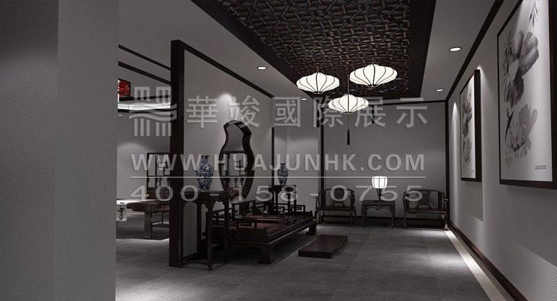 中式家具展厅设计图片欣赏