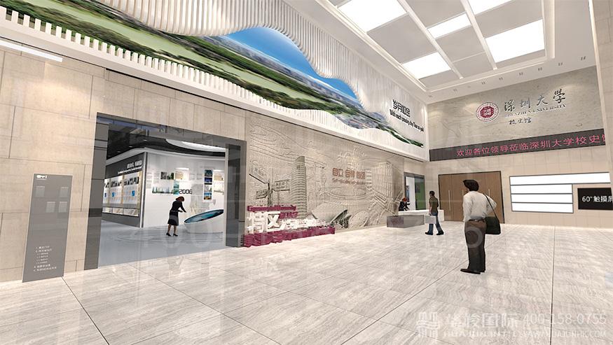 因而这类企业展厅设计需将主题定位在成果展示以及企业的人文精神上