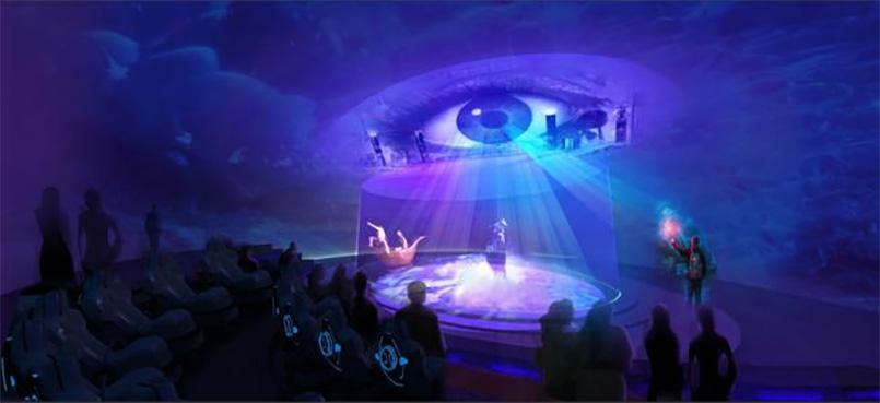 展馆设计中的vr虚拟现实