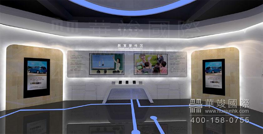 供应信息 深圳华竣展览有限公司 深圳科技馆设计,视睿电子科技展厅