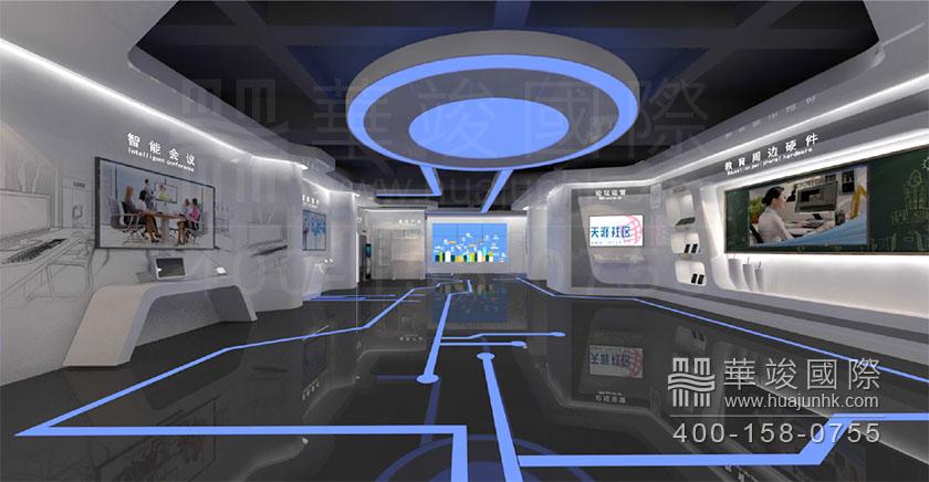 【深圳科技馆设计,视睿电子科技展厅设计案例】价格