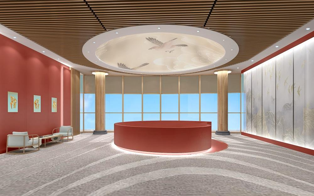 金融企业展厅设计