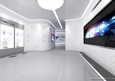 华剑建设集团智慧医疗展厅