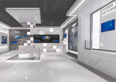 南玻集团文化成就企业展厅设计