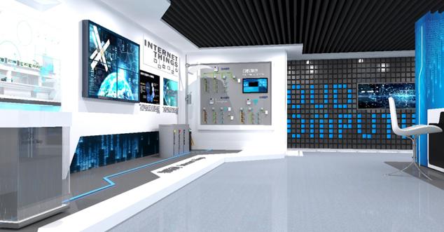 中国电信西安智能信息展馆设计