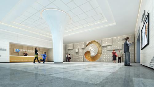 悦康药业集团展厅设计