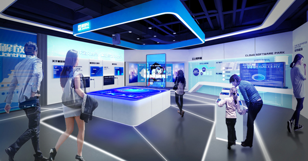 中软国际企业展厅设计